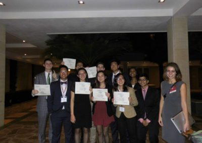 Best Small Delegation at HACIA 2016