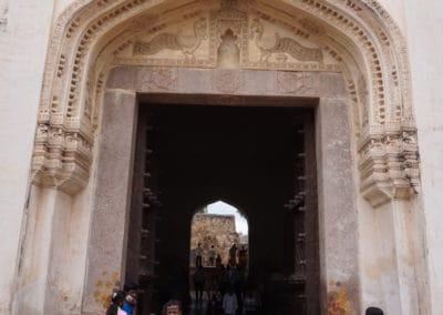 Entrance to Golkonda Fort
