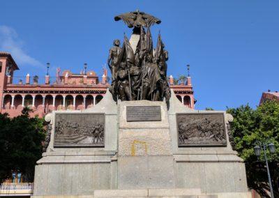Bolivar Statue in Panama