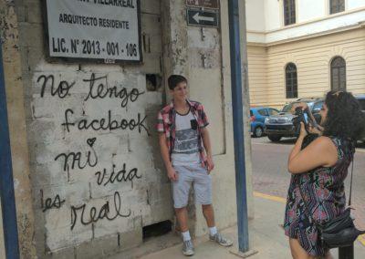 Street Corner in Panama City