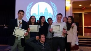 Best Small Delegation at NAIMUN LIII