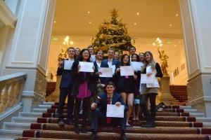 The Fall United America delegation won Best Delegation at YMGE 2015.