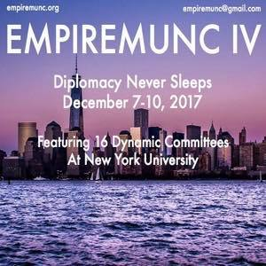 NYU EmpireMUNC High School Model UN conference